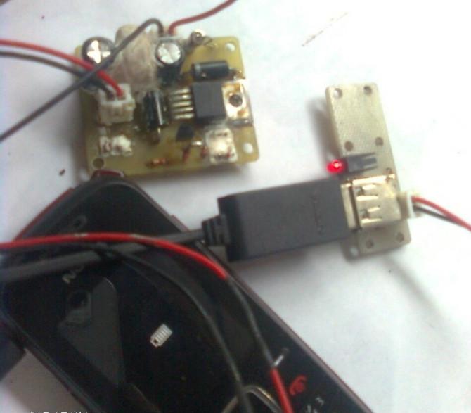 摩托车车载充电器电路板