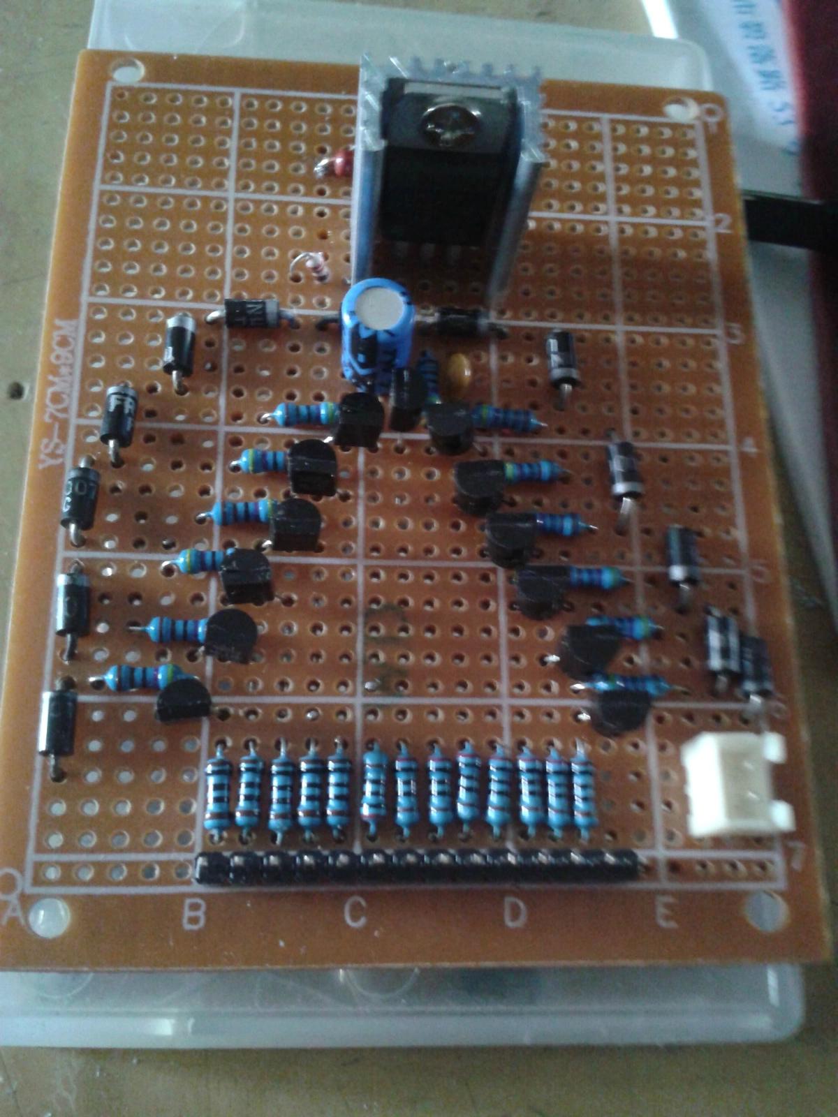 左右声道的音频信号,推动led灯