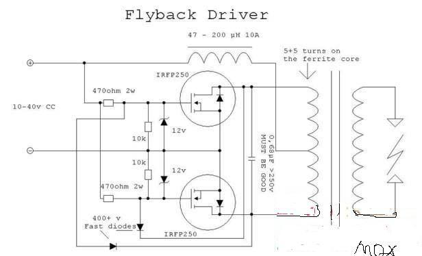 12v逆变器电容接线图