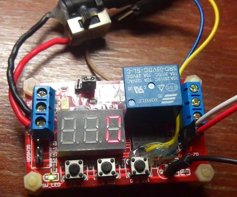 用51单片机制作时间控制继电器