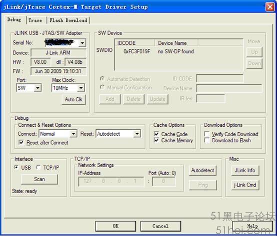 stm32 jtag和swd的使用区别