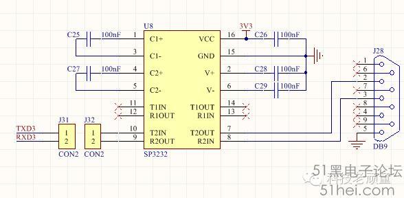 STM32开发板串口的规划图片