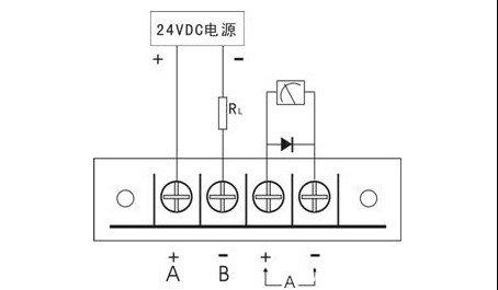 压力变送器接线图