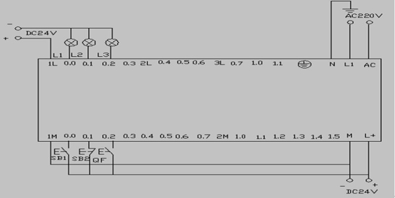 用西门子s7-200型plc实现星三角降压启动的设计学习