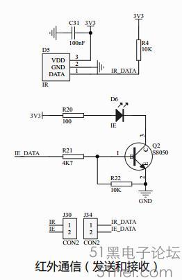 老顽童stm32开发板短路帽介绍