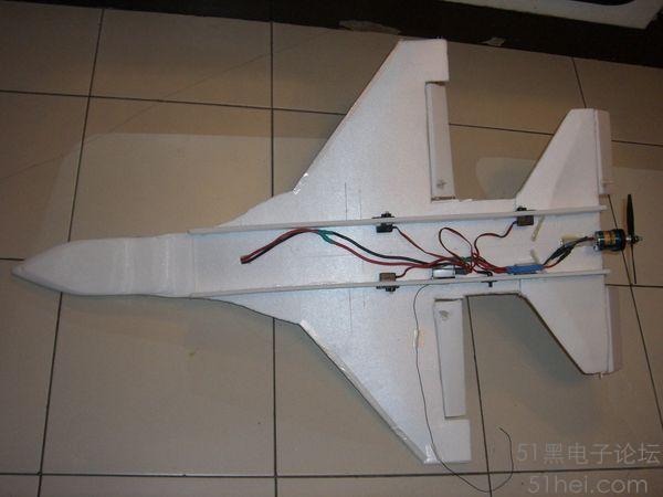 自制遥控飞机 diy f-16