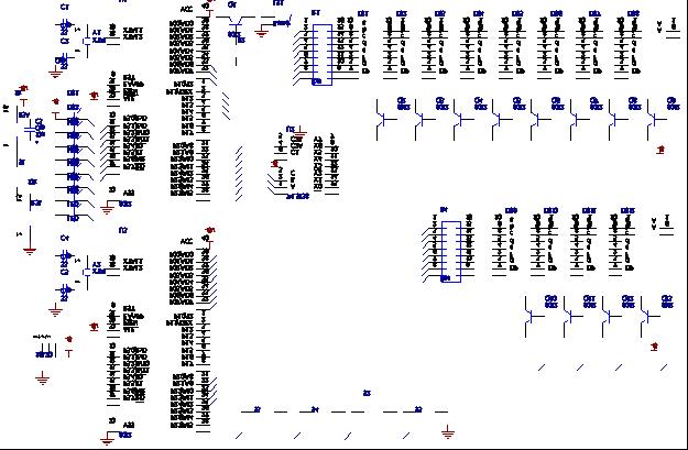 380v积时数字钟接线图