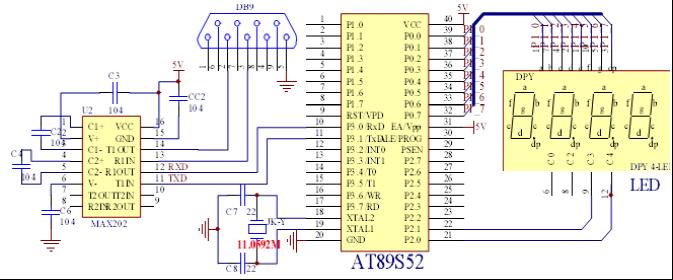 9芯rs232串口内部接线图