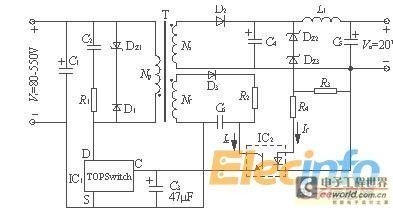 反激式开关电源变压器是这么计算的