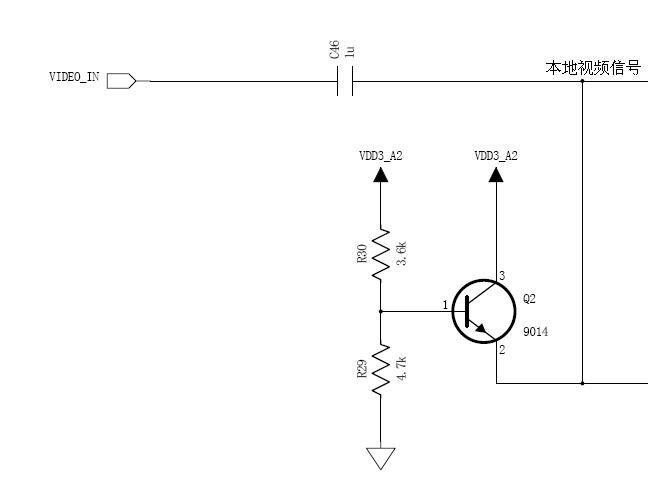 三极管钳位电路具有成本低,控制灵活,响应速度快等优点.