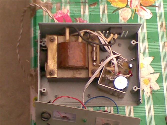 用食盐溶液电解法制作印刷电路板