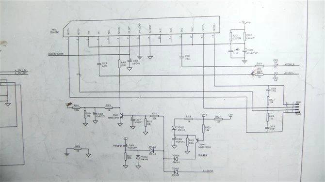 业余手工制作tda7297双声道功放图解
