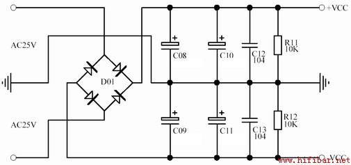 lm1875制作的功放电路图