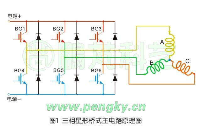 图1  电子换向器电路原理图