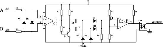 4. §3.4 ssr驱动电路 根据设计要求,采用图3.5所示电路.
