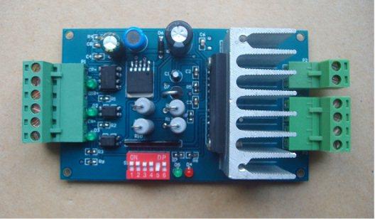 42步进电机驱动电路_TB6560两相混合式步进电机驱动板设计资料(单片机源码+PCB+电路图 ...