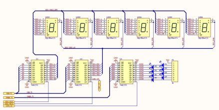 单片机四路抢答器课程设计报告 含完整源码