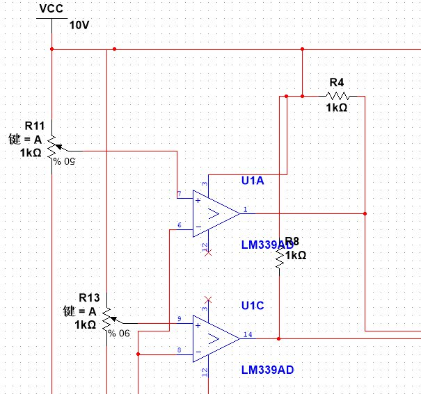 选择电路用的是模拟开关。CD4051是单8通道数字控制模拟电子开关,有三个二进控制输入端A、B、C和INH输入,具有低导通阻抗和很低的截止漏电流。幅值为4.5~20V的数字信号可控制峰值至20V的模拟信号。例如,若VDD=+5V,VSS=0,VEE=-13.5V,则0~5V的数字信号可控制-13.5~4.5V的模拟信号。这些开关电路在整个VDD-VSS和VDD-VEE[url=]电源范围[/url]内具有极低的静态功耗,与控制信号的逻辑状态无关。当INH输入端=1时,所有的通道截止。三位二进制信号选通8通