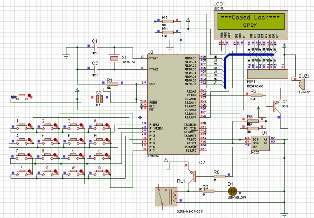 51单片机原理及应用_基于单片机的电子密码锁全套设计资料 - 51单片机