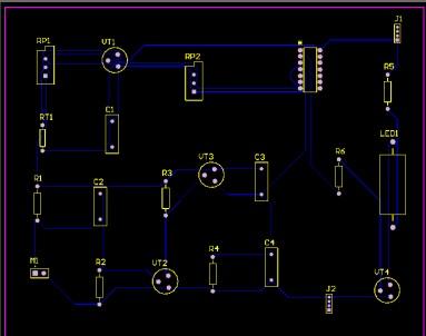 电子蜡烛设计 Altium Designer电路CAD课程设计报告 资料共享 单片机论坛