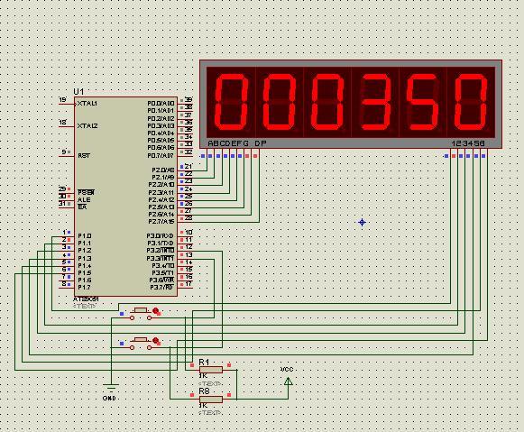51单片机计数_51单片机秒表程序+电路图(汇编语言) - MCU综合技术区 单片机论坛