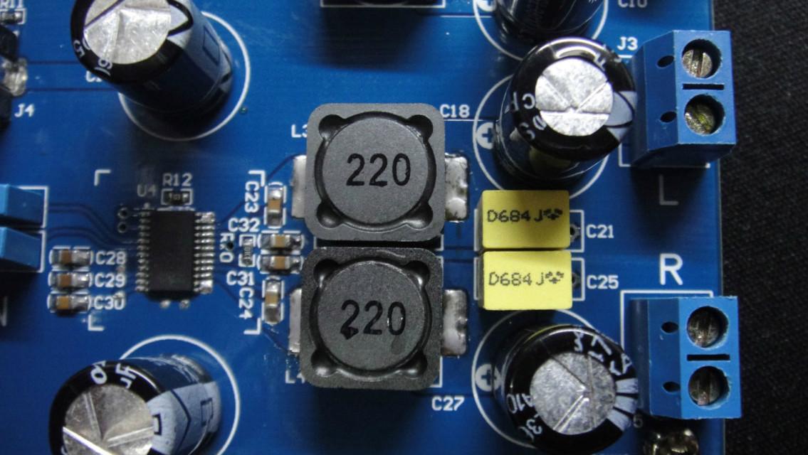 功放电容接线图解