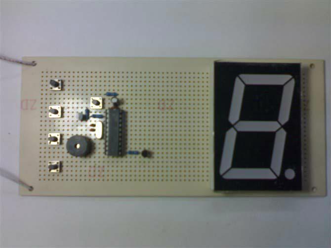 电子小制作之由单片机构成的四路抢答器