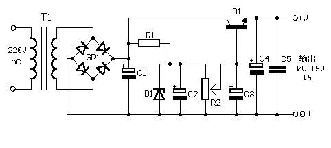 它不仅电路简单,且造价低廉,制作也非常简单.