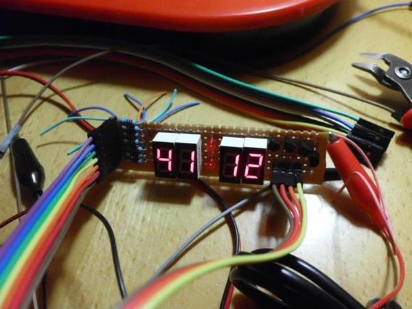 这个单片机dc5伏电压表电路简单