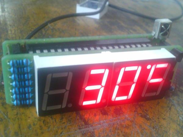 红外遥控单片机数码管时钟制作