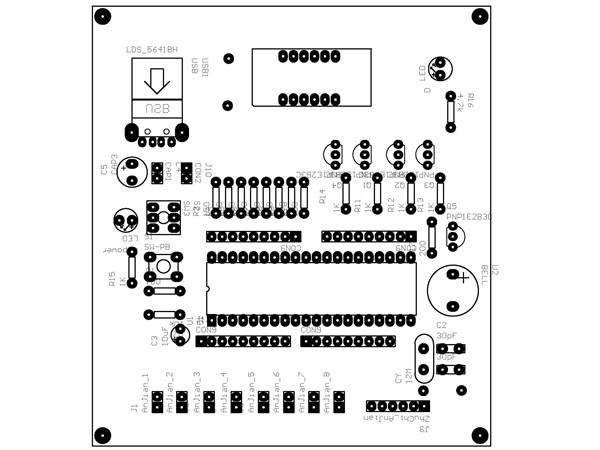 实用性强的8路单片机抢答器制作 带程序电路图pcb图