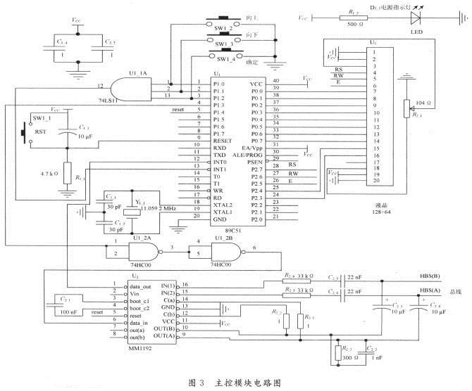 基于hbs协议的多联机空调(mm1192通信)