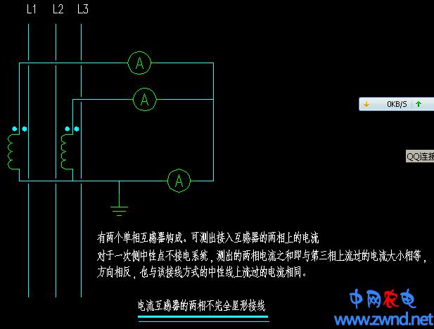 电流互感器和电压互感器的接线方式分析