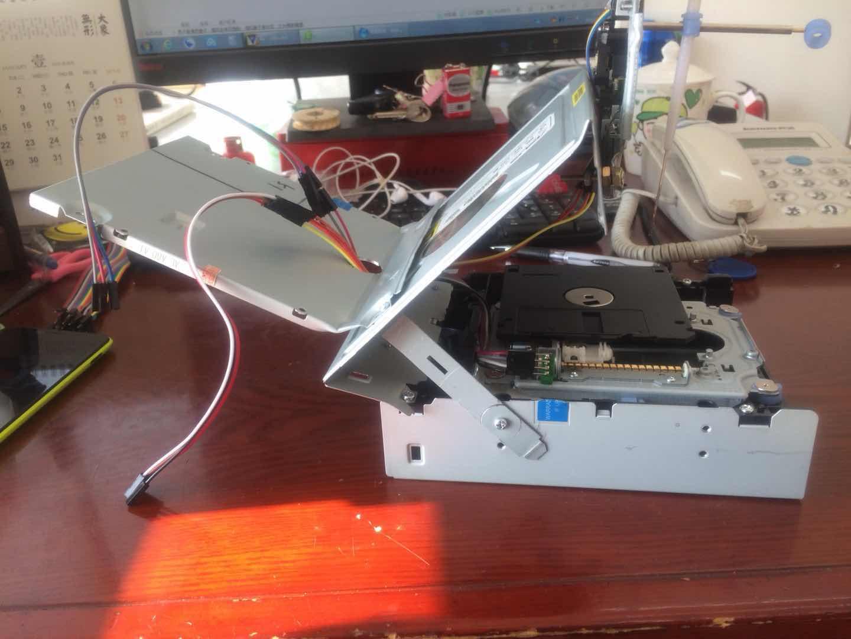 台式机光驱接线_DIY光驱激光雕刻机-激光切割机 - 单片机DIY制作