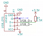 STM32 USB接口硬件设计电路图