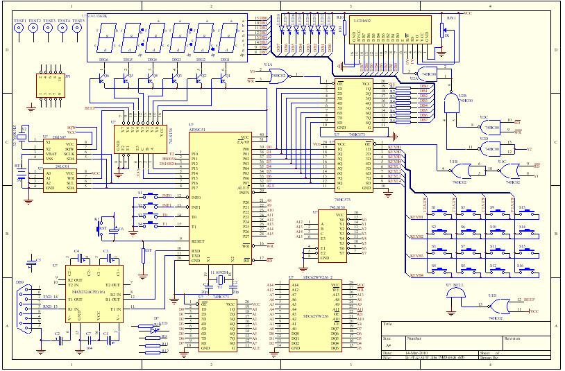 原创51开发板原理图 - 51单片机 单片机论坛
