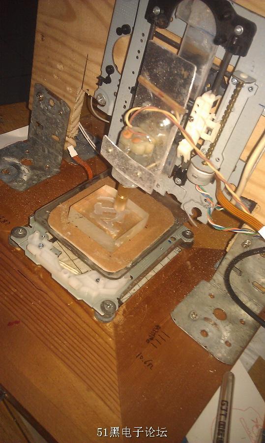 基于arduino控制的mini激光雕刻机,废旧光驱改造