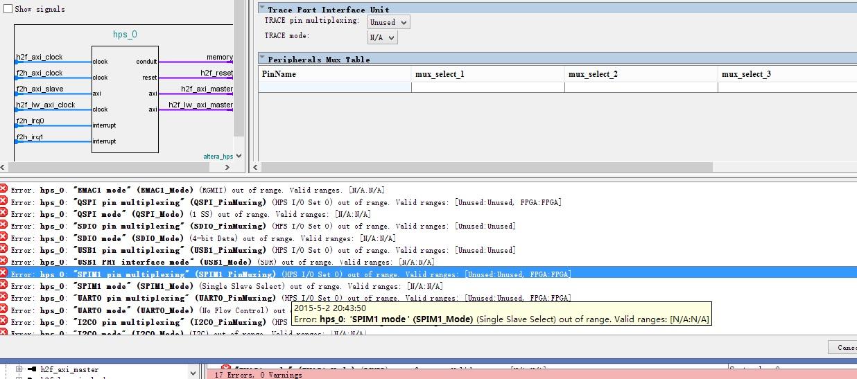de1-soc FPGA(Quartus工程含Qsys系统) + HPS 操作步骤- FPGA/CPLD