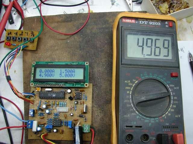 负载间接电流表
