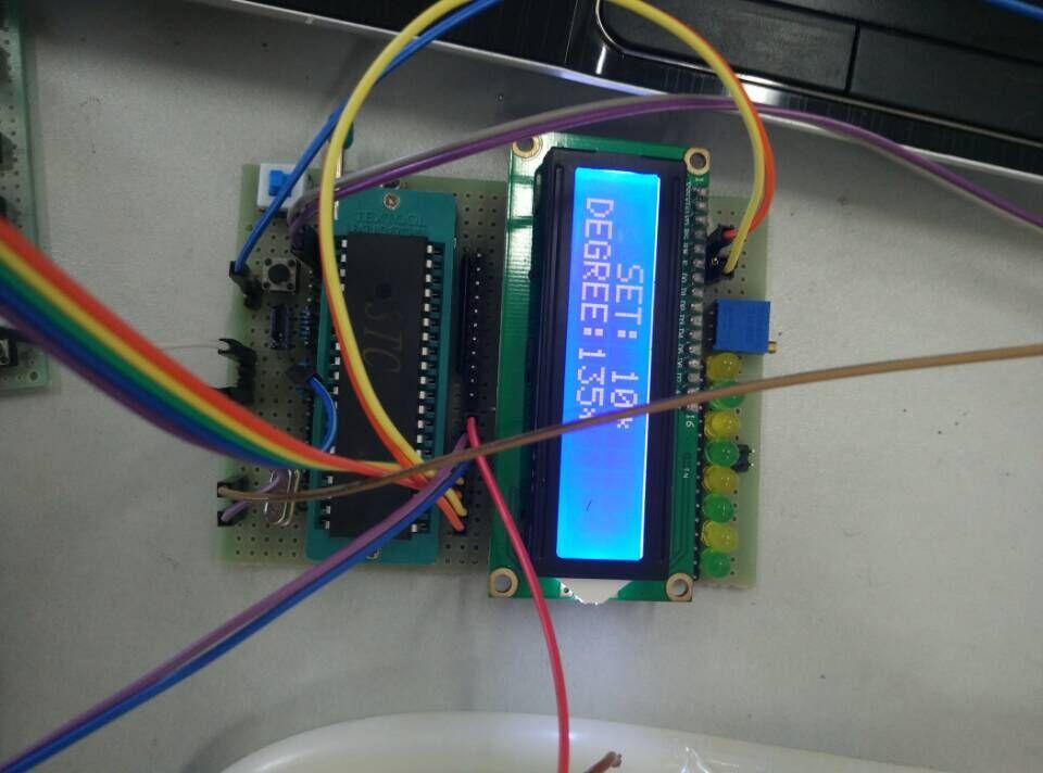 51单片机电机_自制的51单片机+直流电机帆板控制系统 - 单片机DIY制作 单片机论坛