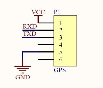 并搭建实验电路,进行数据采集 图3为gps模块和单片机的通信接口电路