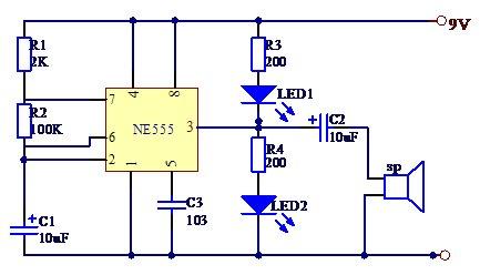 汽车转向灯电路的制作
