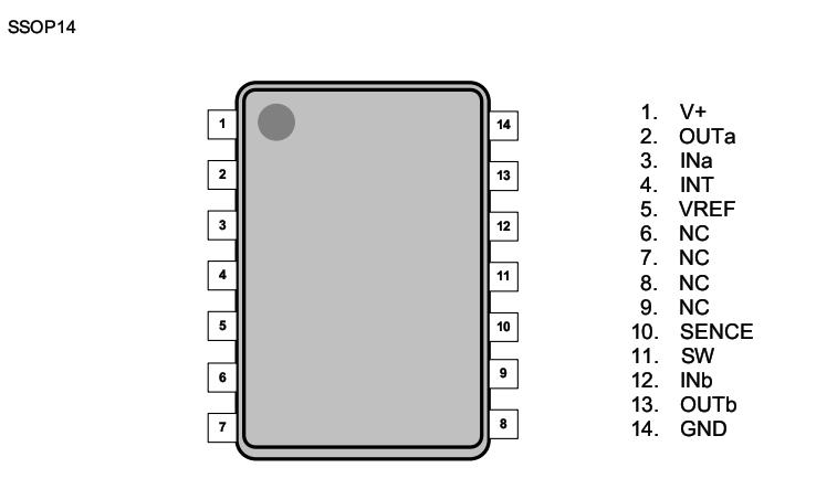 njm2761引脚图 应用电路图 pdf规格书资料下载