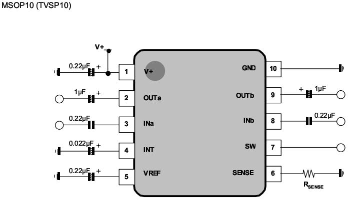 NJM2761引脚图 应用电路图 pdf规格书资料下载 - 资料共享 单片机论坛