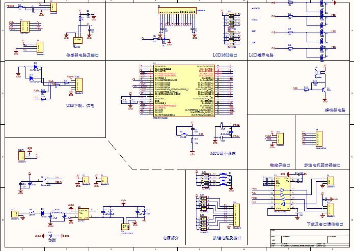 晶振电路(可选) 复位电路(可选) 下载电路:串口下载或usb下载(可选)