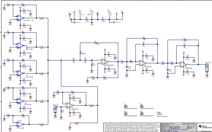 噪声滤波器 pcb图+电路原理图