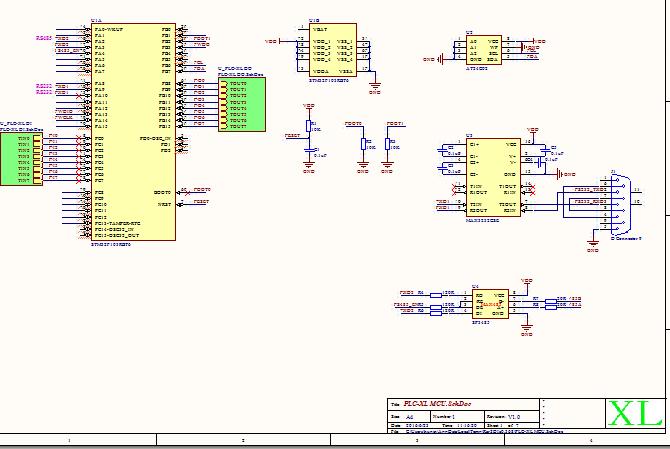 串口控制八路继电器模块原理图,rs485通信stm32单片机