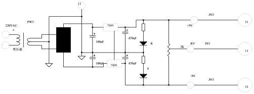 基于上述认识,我们可以很容易地从电路上看出,OPT3和OPT4中的6路光偶,其一次侧发光二极管分别与图中的L9L14六个用作信号灯的发光二极管是串联连结的,同时串入的还有图中的排阻RS8,它起到了限流的作用。只要6路伺服驱动器的输出引脚中有一路在驱动器内部与24V地线接通,该路的发光二极管LED便会发亮,与此同时,和它串联的光偶电路也会饱和导通,使与其对应的P1口端子呈现低电平。