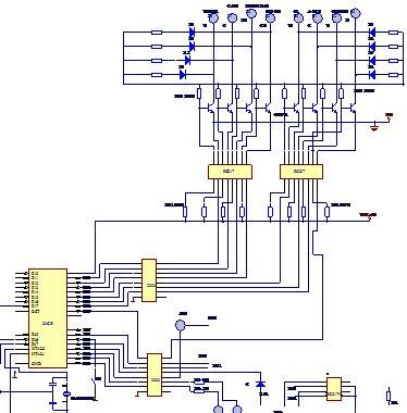 51单片机 69 单片机伺服电机驱动电路图及详解  8,单片机的开关量