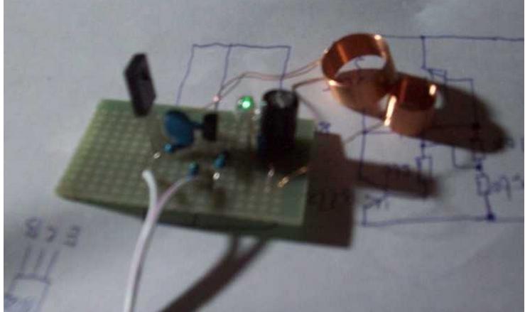 无线供电部份 三极管 q1 to92 1 b772